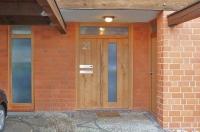 Haustüre aus Asteiche