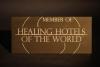 Hotelauszeichnung aus massivem Tombak gefrässt