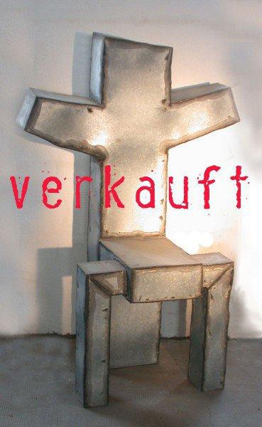 "Stuhl - Skulptur ""Heiliger Stuhl"""