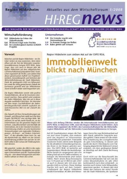 Hi-REG News 08 - Made in Hildesheim, Produkte, die sich sehen lassen können