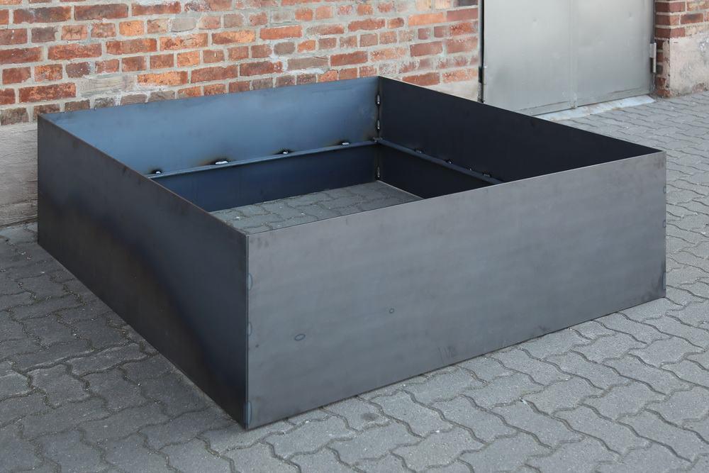 hochbeet aus 6 mm stahl. Black Bedroom Furniture Sets. Home Design Ideas