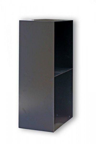 Regal aus Stahl für Kaminholz