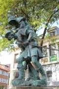 Dem Huckup in Hildesheim wurde mal wieder sein Stab geklaut