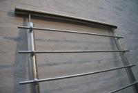 Geländer aus Stahl und Edelstahl