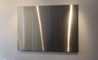 Magnetpinnwand aus magnetischem Edelstahl