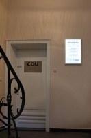 Selbstleuchtendes LED-Schild mit austauschbarer Digiprintfolie
