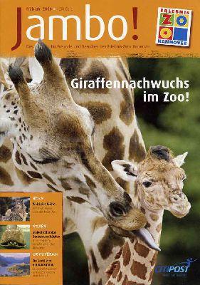 Jambo - Das Magazin für Freunde und Besucher des Erlebnis-Zoo Hannover