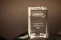 Der Junior Award für 2011