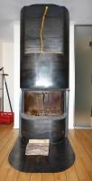 Kamin Bodenblech aus 8 mm Stahl für einen von uns gefertigten Kamin.