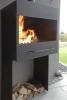 Der Gartenkamin, die Feuerstelle für den Garten
