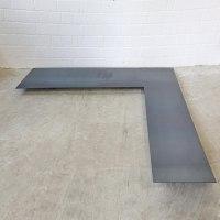 Kamin Bodenblech aus 3mm Stahl
