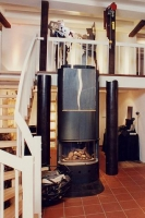 Bodenblech aus 8 mm Stahlblech für den Kaminbauer Ulli Kappey