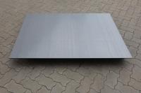 Kaminblech aus verzundertem 3mm Stahl