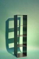Kaminholz Regal ohne Rückwand aus 3 mm Stahl