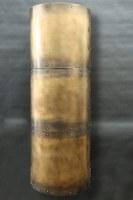 Kaminrohr Verkleidung aus Tombak