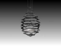 Verschiedene Kavernen Skulpturen aus Stahl gelasert - Entwurf für SOCON SONAR CONTROL Kavernenvermessung GmbH