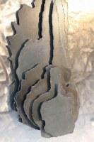 Mehrschichtige Kavernen-Relief-Skulptur