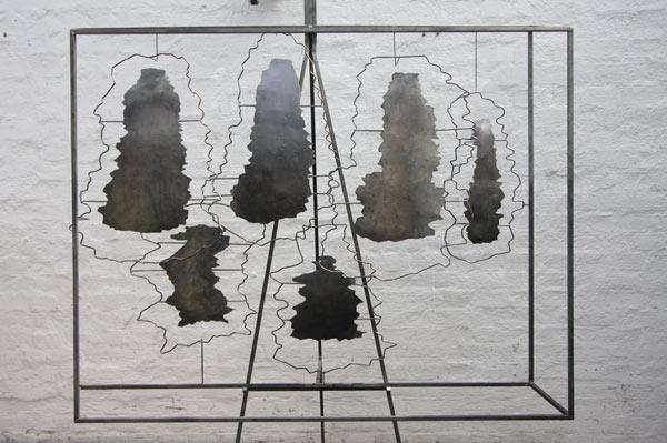 Kavernenfeld als Skulptur