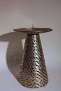 Osterleuchter  oder Kerzenleuchter aus 4 mm Rundstahl geschweißt
