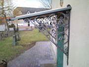 Vordach für die Ev.-luth. Kirche St. Michael in Wehmingen