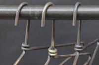 Kleiderbügel aus 6 mm Rundstahl geschmiedet