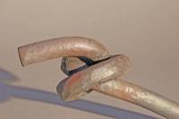 Knoten aus 20 mm Rundeisen
