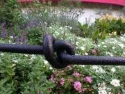 Kniegitter mit Knoten für Mullewapp im Zoo Hannover