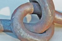Knoten aus 30 mm Stahl Vollmaterial