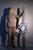 Knoten aus 40 mm !!! Vollmaterial in Stahl geschmiedet