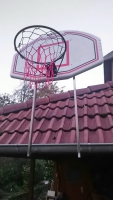 Halterung für einen Basketball Korb