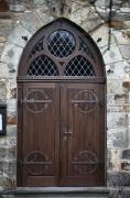 Handgeschmiedete Buchsgirlanden Halter für die Kirche in Kemme