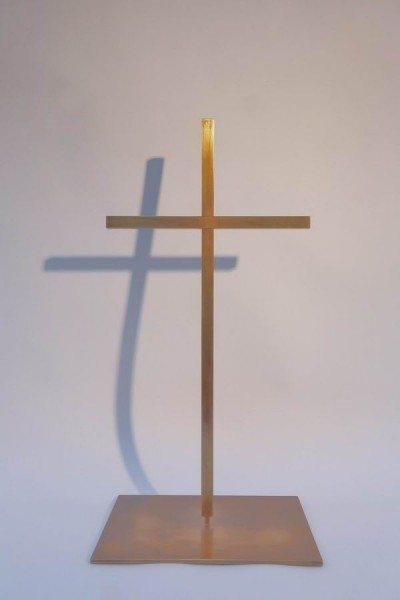 Kreuz aus Schmiedebronze für den Landtag Brandenburg