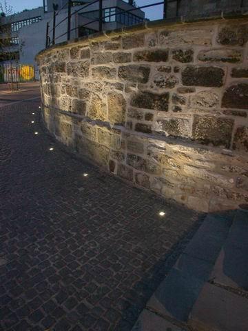 Beleuchtung an der Hildesheimer Kreuzkirche