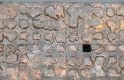 Schale aus Lochblech und Kupfer