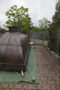 """gigantisch groß, gigantisch gut. Kupferhaube mit Stahlbeschlägen für """"Dat Backhus"""" in Hamburg"""