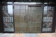 Restaurierung und Aufarbeitung einer Kupfertüre für die Diakonischen Werke Himmelthür