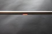 Edelstahl Glas Geländer mit einem RGB LED Handlauf aus Edelstahl