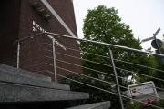 LED Treppengeländer mit in den Handlauf integrierten LED Modulen