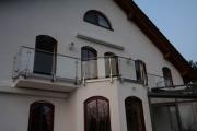 Spezielles LED-Geländer für ein tolles Haus