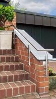 LED Treppenhandlauf aus V2A Edelstahl