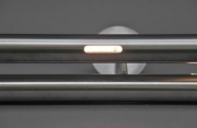Hochwertiger Edelstahlhandlauf mit LED-Modul, LED Beleuchtung