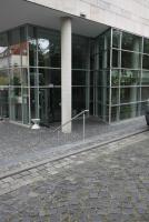 Stabiles LED-Edelstahlgeländer am Roemer-Pelizaeus-Museum in Hildesheim