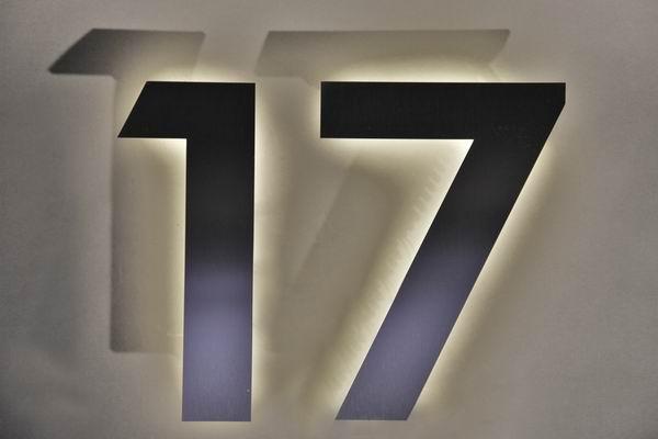 Beleuchtete LED Hausnummern - Seite 5 - Hausnummern online kaufen
