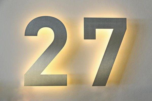 LED Hausnummer 27
