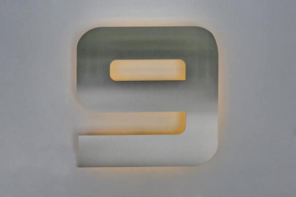 """LED-Hausnummer """"9"""""""