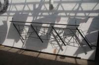 Geländer mit Schmitzstruktur - Werkstattfoto