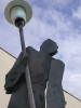 Laternenmann - Skulptur für die Königwiese in Celle