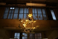 wunderschöne Leuchte für das Tagungshotel Seefugium