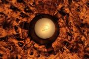 Leuchte aus Kupferfolie