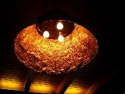 Leuchte aus Kupfer für das Kalimera